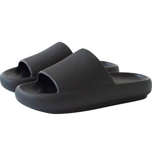 Brand new hard to come by Black Sootheez slides